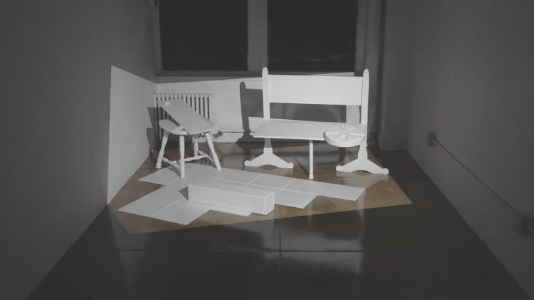 video installation at New York Gallery